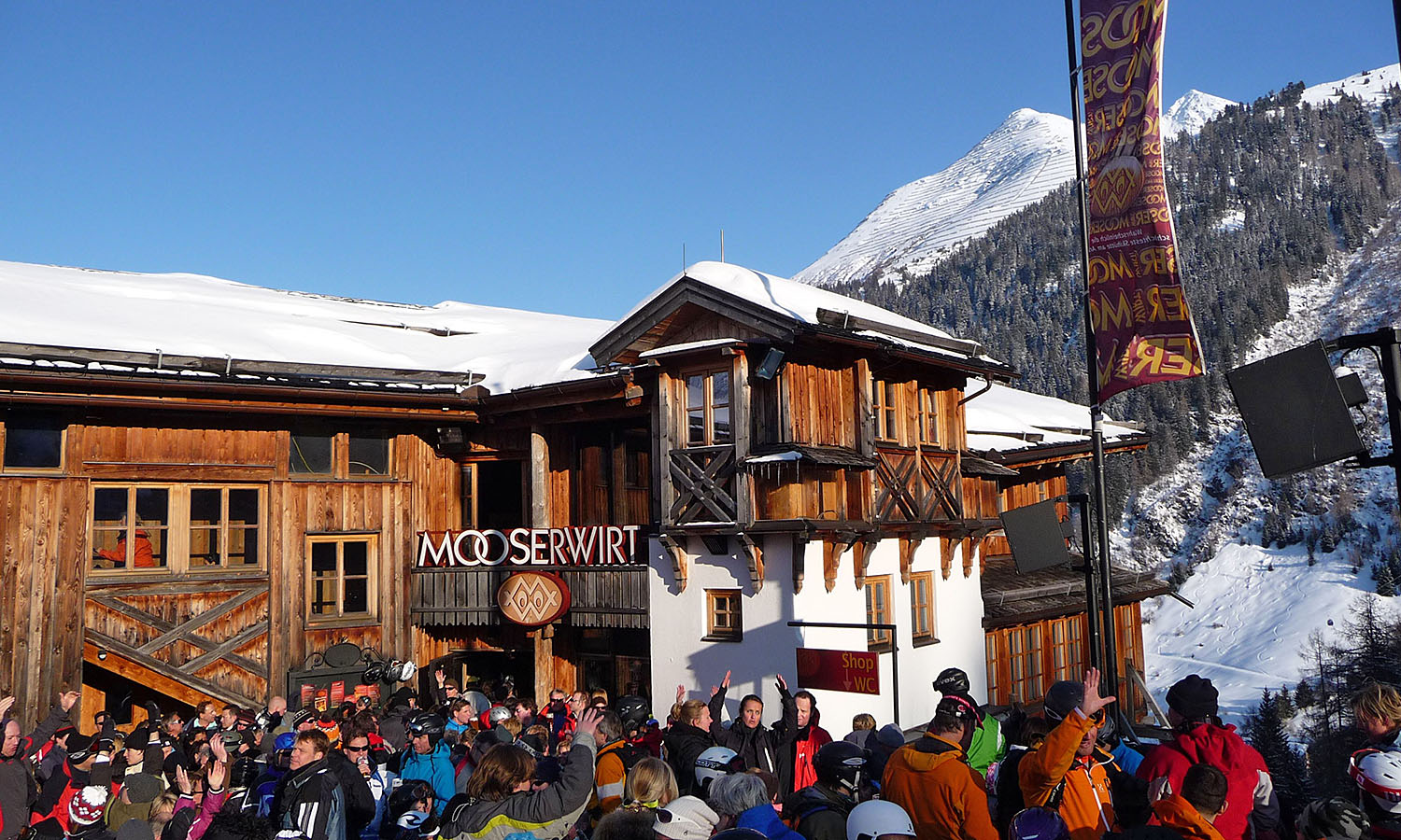 Après Ski At The Legendary Mooserwirt Get Lost Magazine
