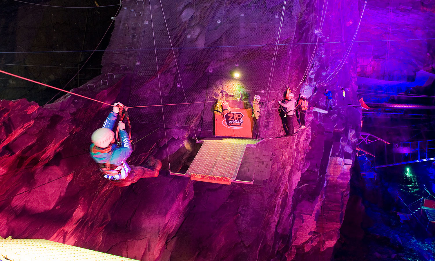 We've found the underworld – and it has zip-lines | get lost Magazine