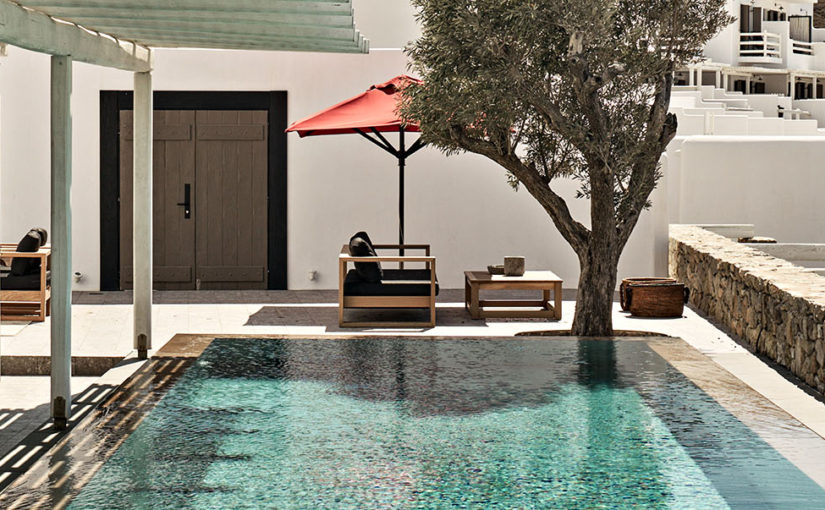 Classic villa charm on Mykonos