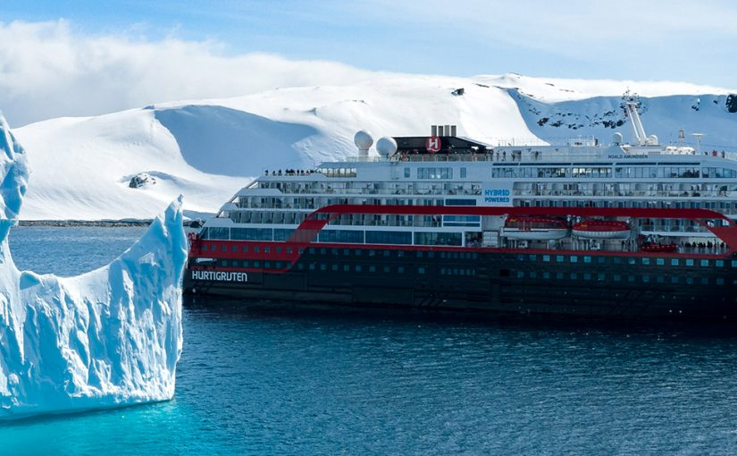 Hurtigruten Expeditions to protect Antarctica's whales