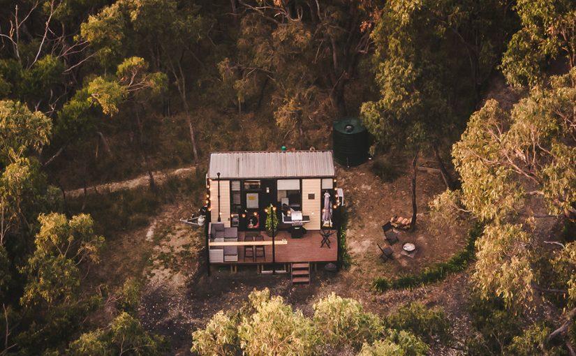 Escape to a tiny house