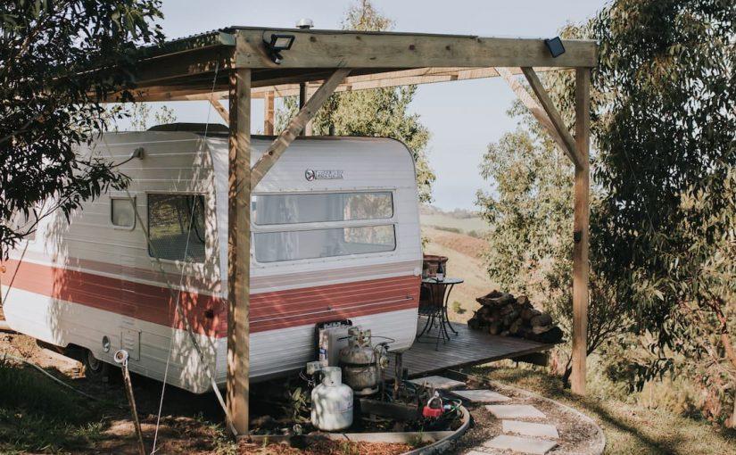 This Otways caravan is very cool